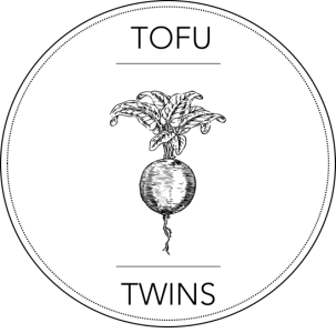 tofu, twins, logo, radish, seed, seedling black, white, grey scale, healthy, food, blog, clean, eating